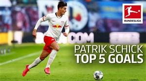 5 گل برتر پاتریک شیک در بوندسلیگا 20-2019