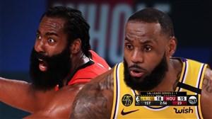 خلاصه بسکتبال لس آنجلس لیکرز - هیوستون راکتس