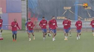ادامه تمرینات بارسلونا برای فصل 2020/21 لالیگا