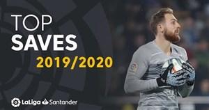 بهترین سیوهای لالیگا در فصل 20-2019