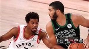 خلاصه بسکتبال تورنتو رپترز - بوستون سلتیکس