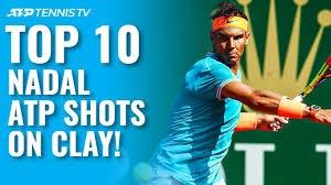 10 واکنش برتر نادال در مسابقات مختلف تنیس