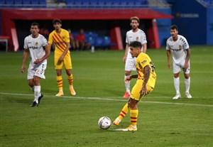 خلاصه بازی بارسلونا 3 - خیمناستیک 1 (دوستانه)
