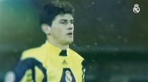 21 سال از اولین بازی کاسیاس در رئال مادرید گذشت