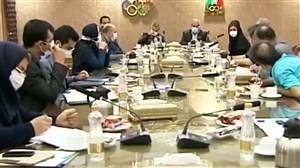 جلسه ستاد مقابله با کرونا به میزبانی کمیته ملی المپیک