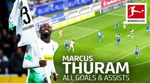 مارکوس تورام ستاره جدید بوندسلیگا 20-2019