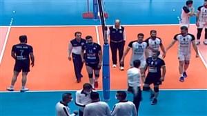 خلاصه والیبال آذرباتری ارومیه 1 - شهرداری ورامین 3