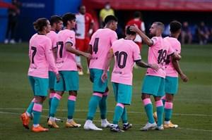 خلاصه بازی بارسلونا 3 - خیرونا 1 (دوستانه)