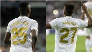 وینیسیوس و رودریگو برترین بازیکنان جوان رئالمادرید 2019/20