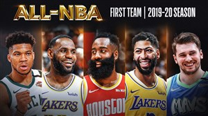تیم منتخب برترین بازیکنان NBA در فصل 20-2019