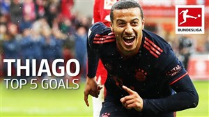 5 گل برتر تیاگو آلکانترا در بوندسلیگا 20-2019