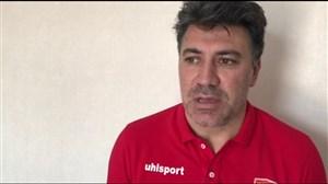 صحبتهای محمد نوازی مربی شهرخودرو پیش از بازی با الهلال عربستان