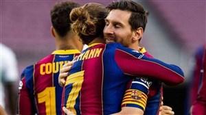 خلاصه بازی بارسلونا 1 - الچه 0