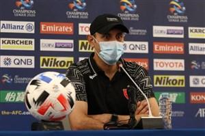 کنفرانس خبری یحیی گل محمدی پیش از بازی با السد