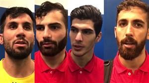 گفتوگو با بازیکنان شهرخودرو بعد از اولین امتیاز آسیایی