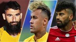 10 مدل موی مورد توجه دنیای فوتبال