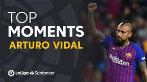 برترین لحظات آرتورو ویدال در لالیگا