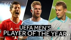 نامزدهای بهترین بازیکن سال لیگ قهرمانان اروپا