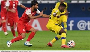 پیش بازی پرسپولیس ایران و شارجه امارات