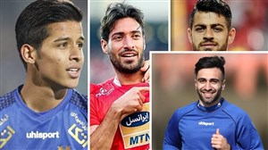درخشش ستاره های ایرانی در فوتبال آسیا در هفته گذشته