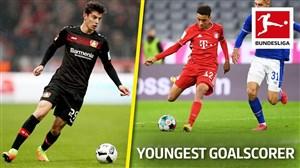 10 گلزن جوان برتر بوندسلیگا در سال 2020
