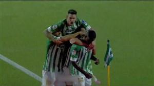 گل دوم بتیس به رئال مادرید (کاروالو)