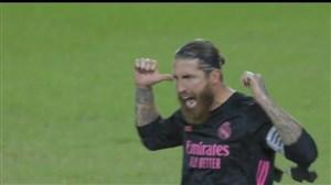 گل سوم رئال مادرید به بتیس (راموس-پنالتی)