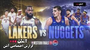 خلاصه بسکتبال لس آنجلس لیکرز - دنور ناگتس