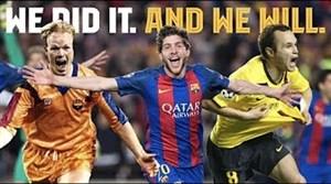 کلیپ انگیزشی باشگاه بارسلونا برای هواداران این تیم