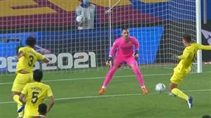 گل چهارم بارسلونا به ویارئال توسط تورس (گلبهخودی)
