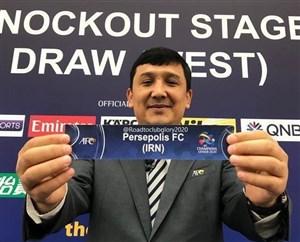 لیگ قهرمانان آسیا   حریف پرسپولیس مشخص شد