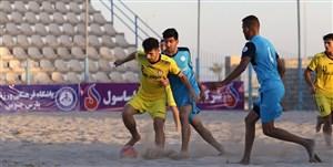 برنامه نیمه نهایی لیگ برتر فوتبال ساحلی اعلام شد