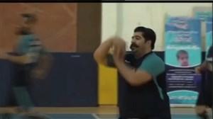 گلزنی بهنام بانی دربازی دوستانه ستارگان هنر - شیراز
