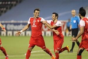 پرسپولیس 2- پاختاکور 0؛ یک قدمی فینال آسیا