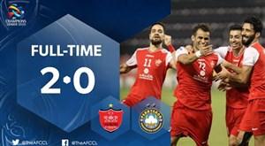 خلاصه بازی پرسپولیس ایران 2 - پاختاکور ازبکستان 0
