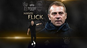 هانسی فلیک برترین مربی لیگ قهرمانان اروپا 2019/20