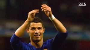 5 گل برتر رونالدو برای منچستر یونایتد در لیگ قهرمانان