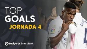 مرور بازیهای هفته چهارم لالیگا اسپانیا 21-2020