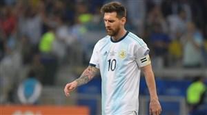 عملکرد ضعیف تیم ملی آرژانتین در نبود لیونل مسی