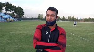 صحبتهای علی نظرمحمدی بعد از دیدار دوستانه با گلگهر