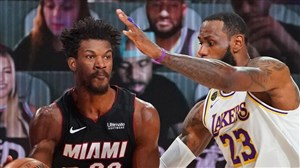 خلاصه بسکتبال میامی هیت - لس آنجلس لیکرز