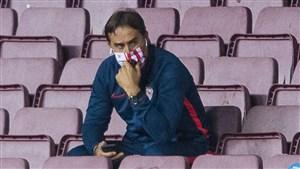 ناراحتم، شایسته پیروزی بر بارسلونا بودیم