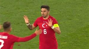 شوت فوق العاده توفان گل اول ترکیه به آلمان