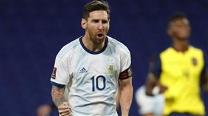 پیروزی دشوار آرژانتین با تکگل لیونل مسی