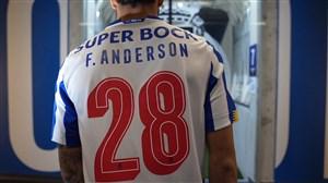 اولین حضور فلیپه اندرسون در باشگاه پورتو