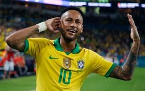 بدشانسی بزرگ برزیل؛نیمار غایب بزرگ تقابل با بولیوی؟