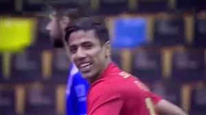 اولین گل طیبی در لیگ برتر فوتسال پرتغال