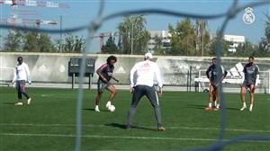 تمرینات امروز رئال مادرید (19-07-99)