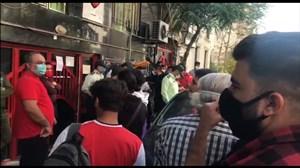 ارتباط زنده با باشگاه پرسپولیس و گزارشی از آخرین وضعیت سرخپوشان