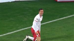 دبل لواندوفسکی و گل سوم لهستان به بوسنی